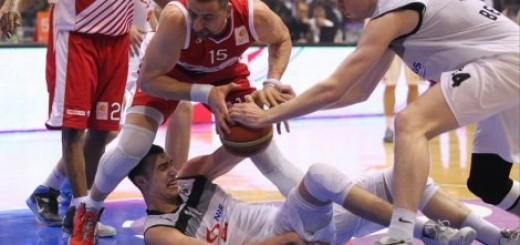 Košarkaški meč između Zvezde i Partizana