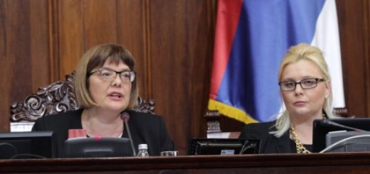 Glasanje u Skupštini Srbije