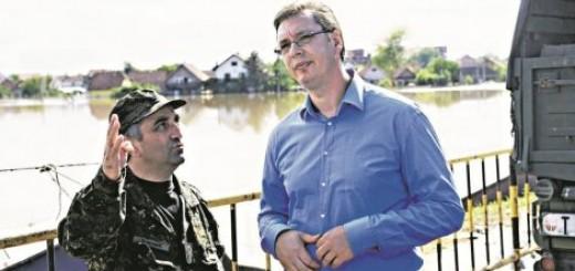 Aleksandar Vučić će obići i poplavljena područja