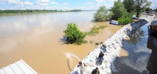 Odbrana Šapca od poplave