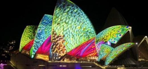 Festival muzike i svetla u Sidneju