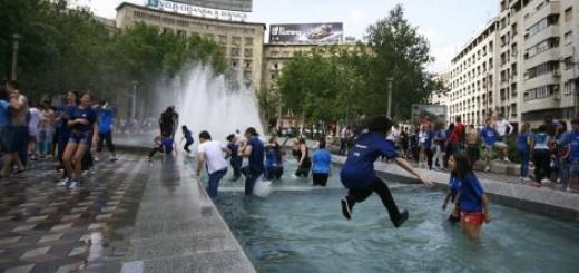 Tradicionalno kupanje u fontani