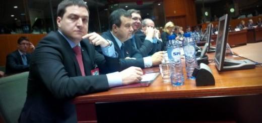 Srpska delegacija u Briselu na otvaranju pregovora