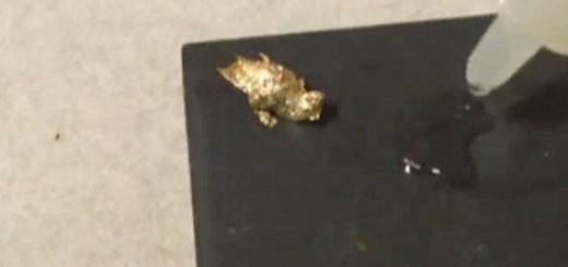 Zlato ispada iz slavina