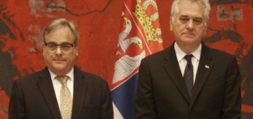 Tomislav Nikolić i brazilski ambasador Seržo Luis Kanaes