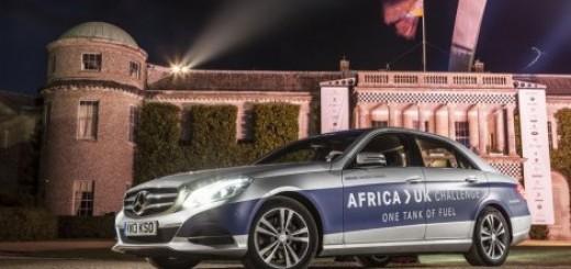 Mercedes E klasa od Afrike do Engleske na jednom rezervoaru Video