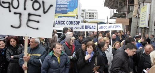 Radnici AMSS dugo su protestovali, ali i poneli krivične prijave protiv rukovodstva zbog protivzakonitog ponašanja i lošeg poslovanja (Foto: Tanjug, arhiva)