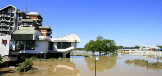 Katastrofalne poplave pogodile su opštinu Obrenovac (Beta, arhiva)