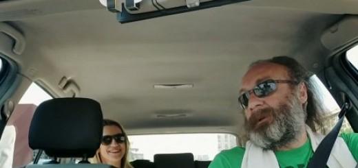 Nebojša Ljubišić kao taksista