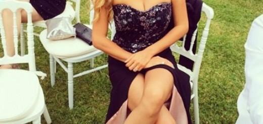 Kao na modnoj reviji: Biljana Tipsarević blistala na Novakovoj svadbi