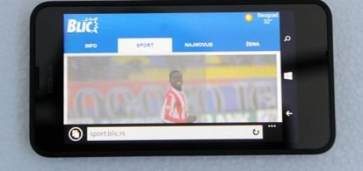 "BLIC TEST Lumia 630, najbolji ""obični"" telefon"