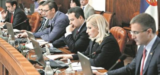 Na koga je mislio: Vučić i ministri na sednici vlade
