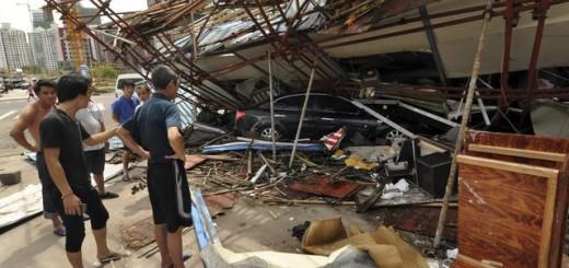 Tajfun je napravio veliku materijalnu štetu i odneo 46 života (Foto: Beta/AP)