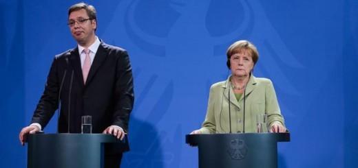 Premijer Aleksandar Vučić i nemačka kancelarka Angela Merkel (Foto: Beta/AP, arhiva)