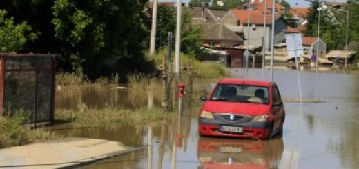Obrenovac za vreme majskih poplava (Foto: Beta, arhiva)