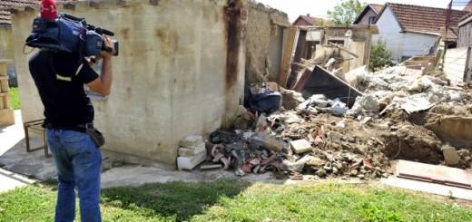 Jedna od kuća u Obrenovcu koja je potpuno uništena za vreme majskih poplava (Foto: Tanjug)