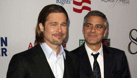 Bred Pit i Dzordz Kluni
